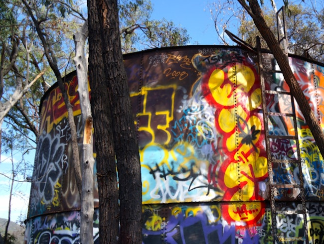 A Graffitied Tour of LA's Secret Nazi Stronghold