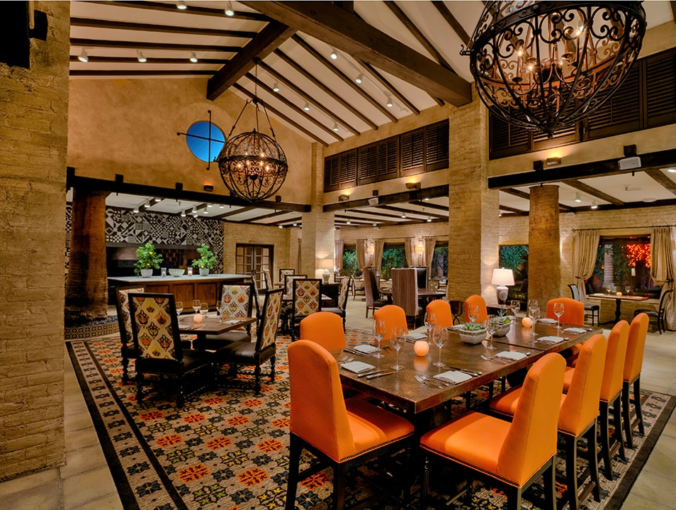 Romance and Sophistication at T. Cook's Phoenix Arizona United States