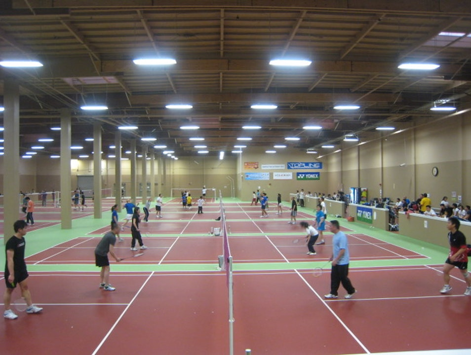 Badminton Workout South San Francisco California United States