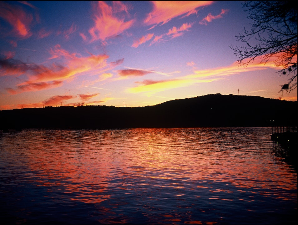 Lake Austin Sunset Austin Texas United States