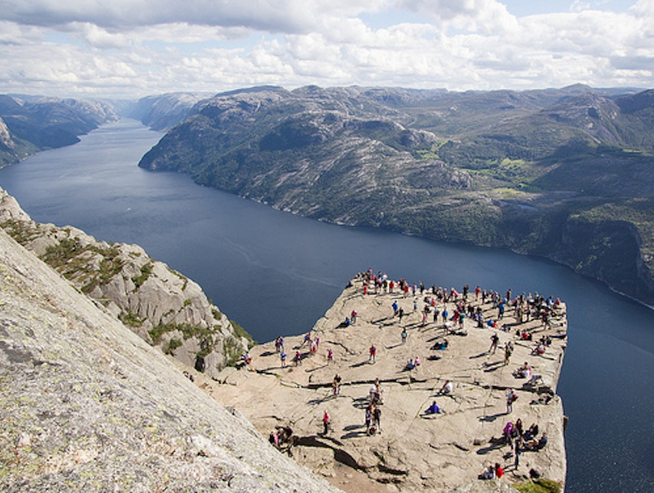 Hike the Preacher's Pulpit   Norway