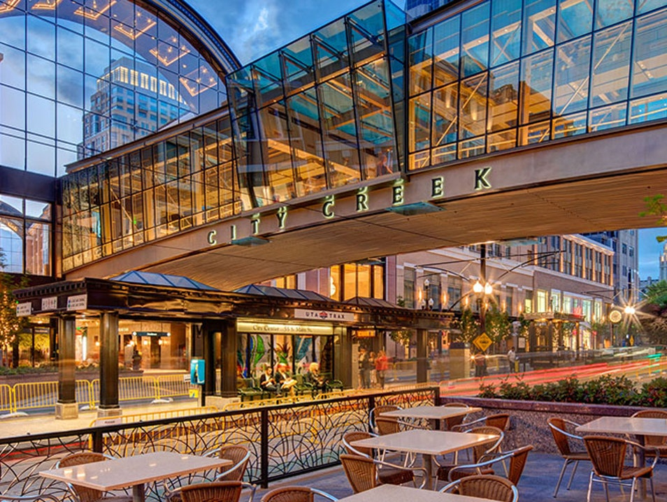 City Creek Center Salt Lake City Utah United States