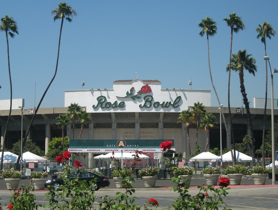 More Than Football at the Rose Bowl Pasadena California United States