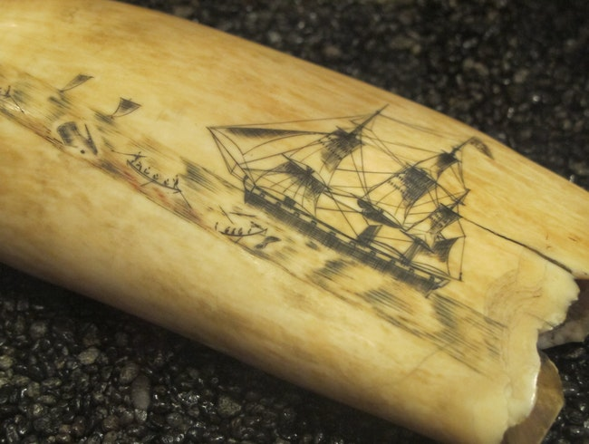 Learn about Scrimshaw at the Whalers Village Museum