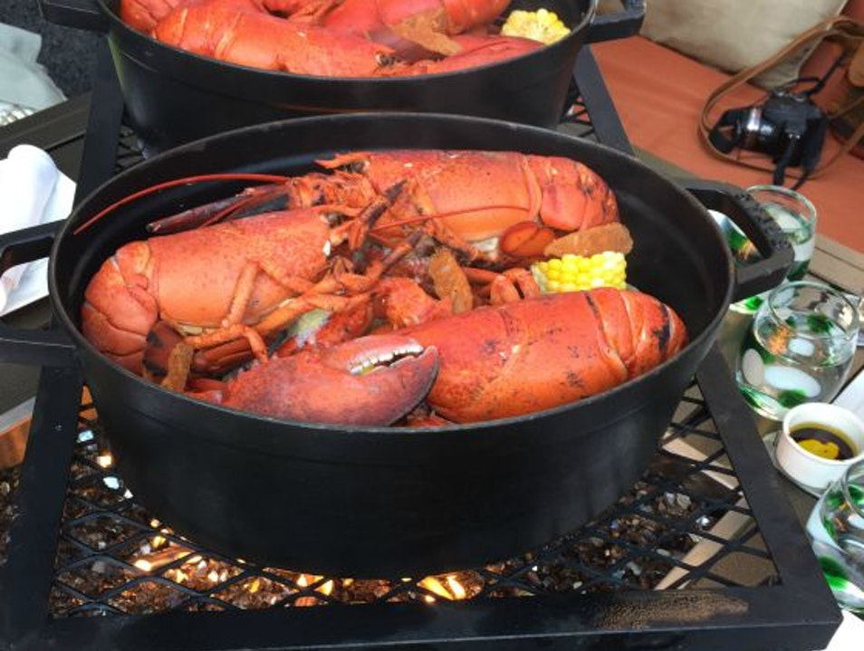 Lobster Bake on the Water-Yes Please! Boston Massachusetts United States