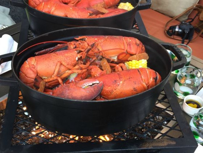 Lobster Bake on the Water-Yes Please!