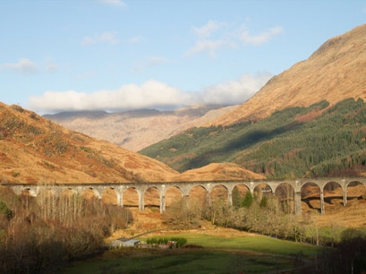 Glenfinnan Viaduct / Harry Potter's Bridge Glenfinnan  United Kingdom