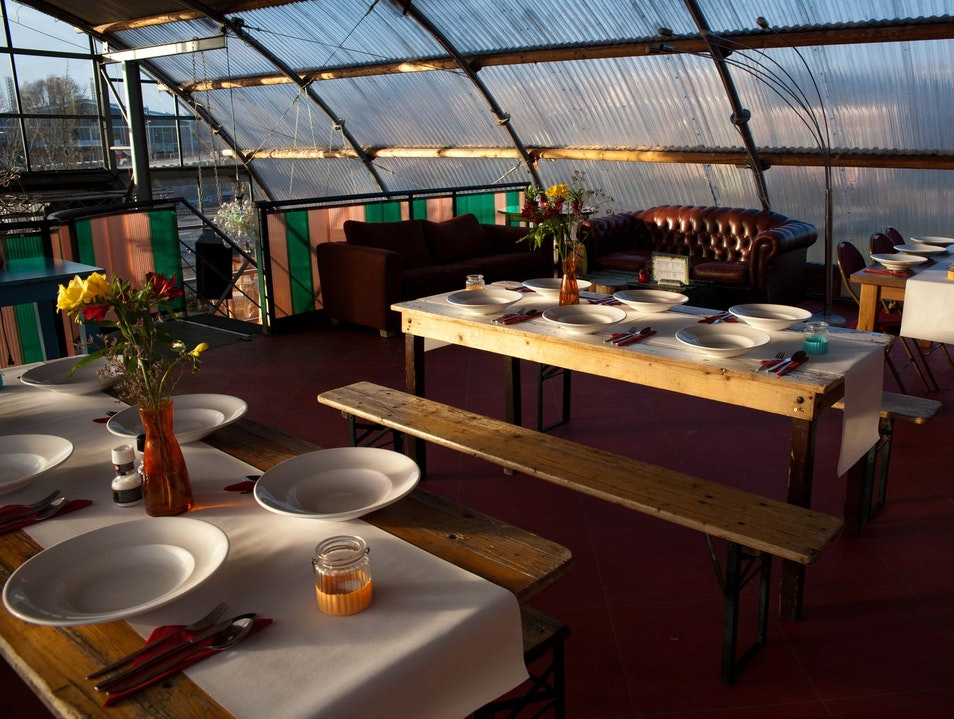 Noorderlicht: Casual Dining Over the Ij Amsterdam  The Netherlands