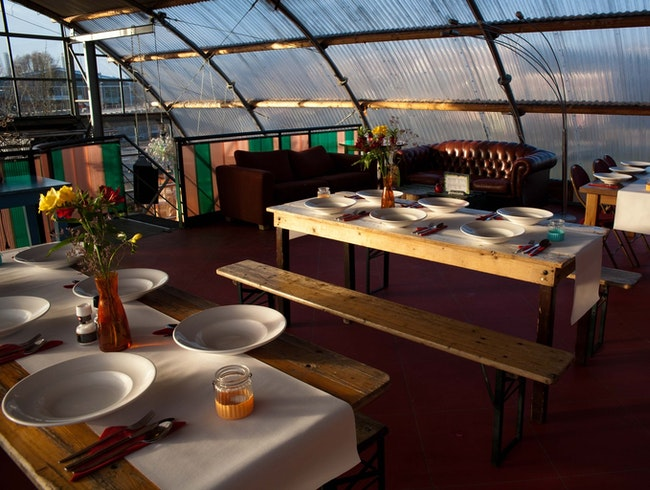 Noorderlicht: Casual Dining Over the Ij