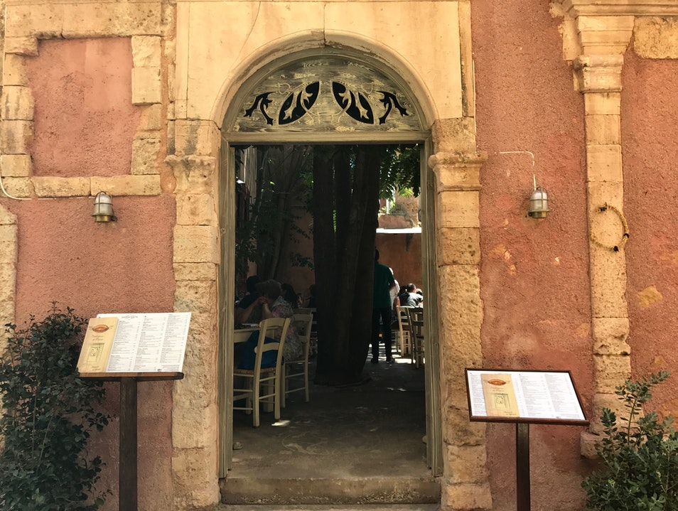 Traditional Greek Taverna in Gorgeous Courtyard