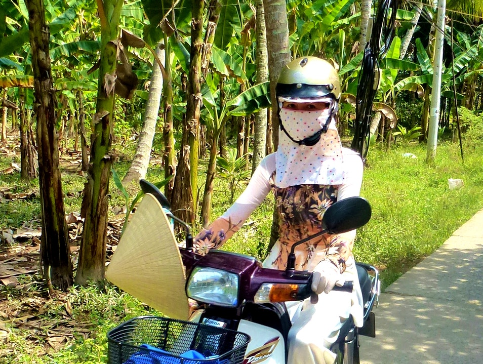 Cycling the Mekong Delta Chánh An  Vietnam