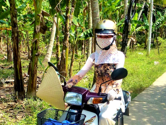 Cycling the Mekong Delta