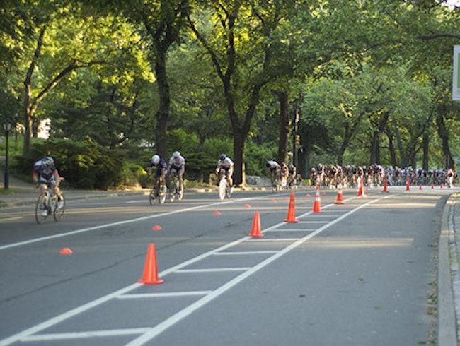 An Exclusive Bike Race in Central Park