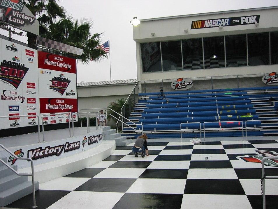 Checkered Flag! Daytona Beach Florida United States