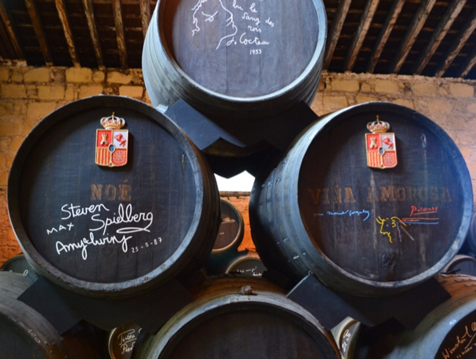Learn about sherry beyond apéritifs and digestifs Jerez de la Frontera  Spain