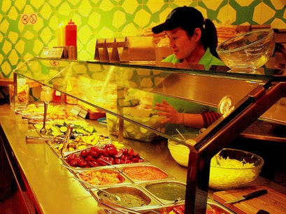 Maoz Vegetarian Amsterdam  The Netherlands