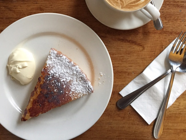 get a taste of the tastiest lemon tart ever in fitzroy.