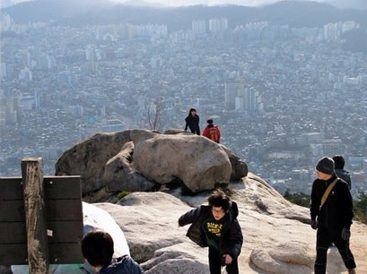 Bukhansan Seoul  South Korea
