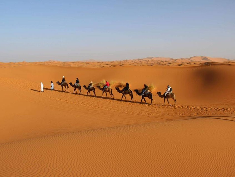 Camel Trekking 2 Nights in Erg Chebbi Merzouga