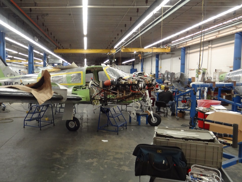 Building aircraft one at a time! Vero Beach Florida United States