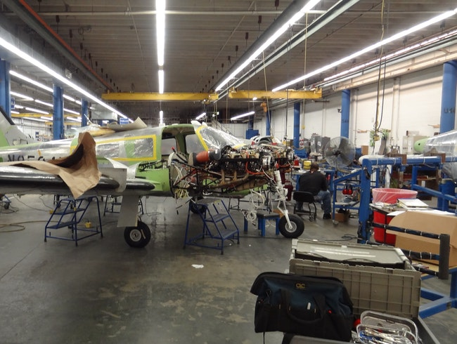Building aircraft one at a time!