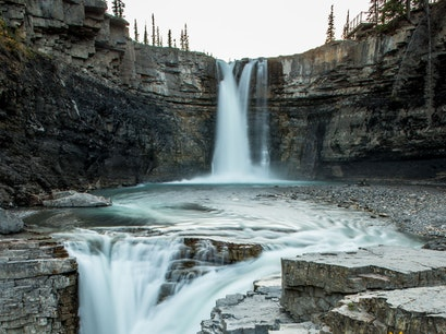 Horseshoe Falls Clearwater County  Canada