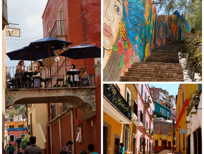 Getting wonderfully Lost in Guanajuato