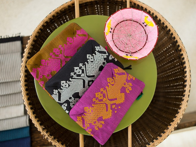 Handwoven textiles and other gifts that give