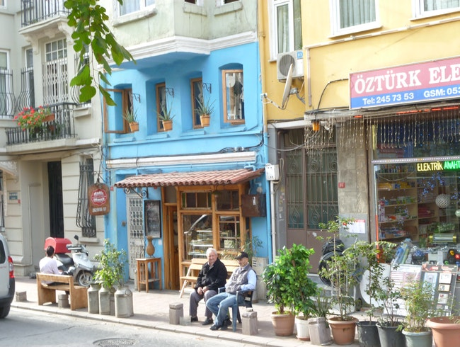 Traditional Cukurcuma Neighborhood, Istanbul