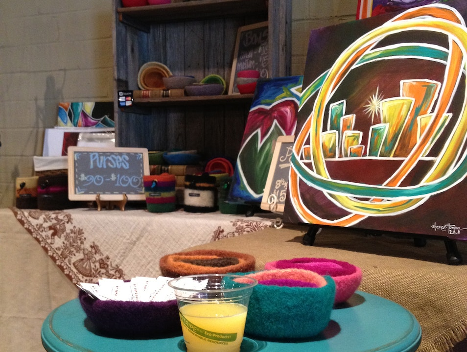 A Pop-Up Handicraft Shop in Dallas Addison Texas United States