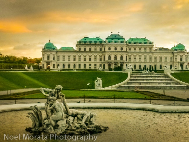 tour of Belvedere palace