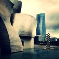 The Guggenheim ( Basilika De Begona ) Bilbao  Spain