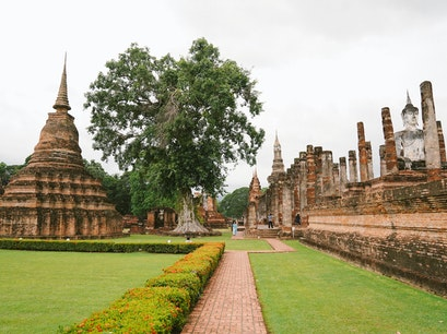 Sukhothai Historical Park Mueang Kao  Thailand