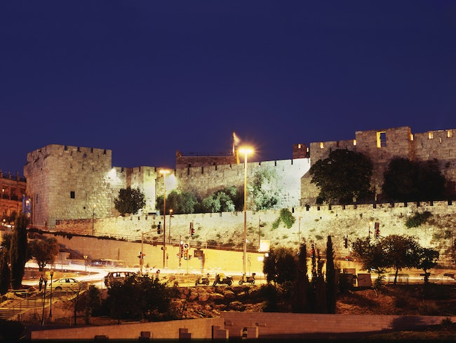 City of David, Jerusalem at Night