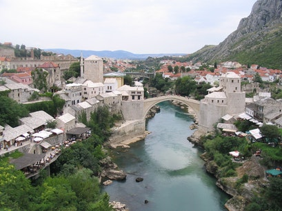Stari Most Mostar  Bosnia and Herzegovina