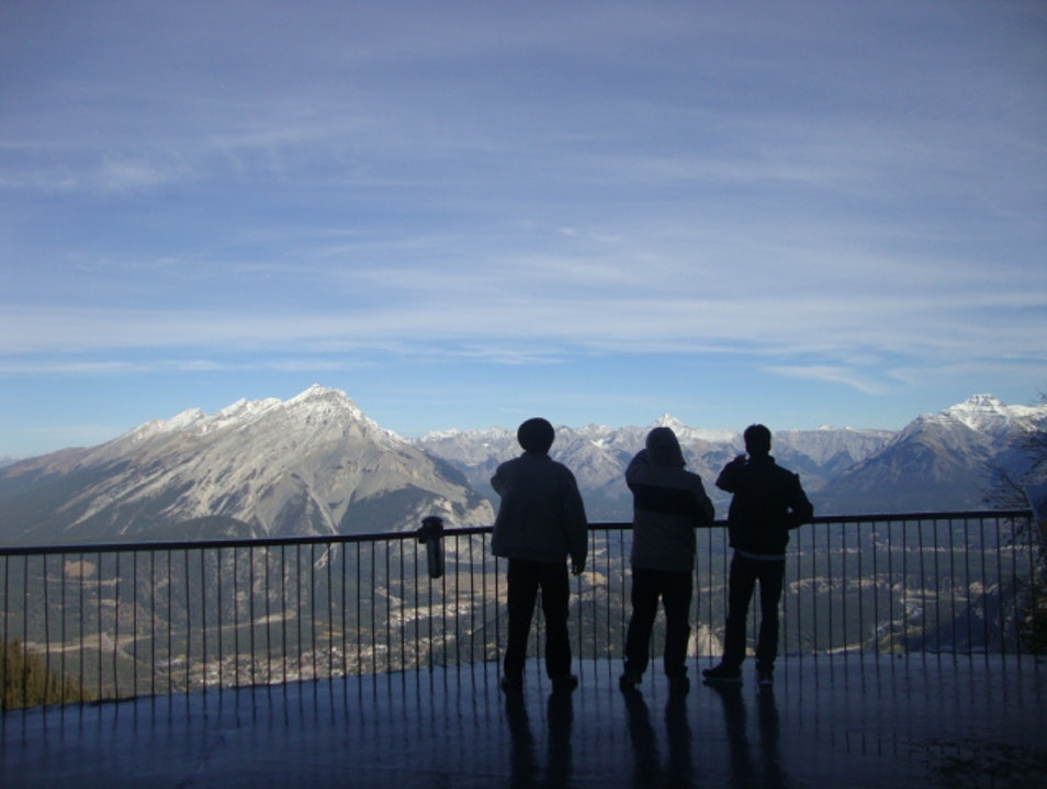 Gondola with a Vista to Remember Banff  Canada