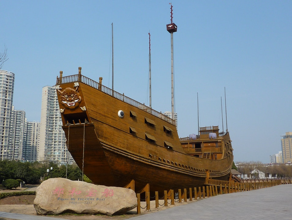 Sail into the Ming Dynasty Sanya  China