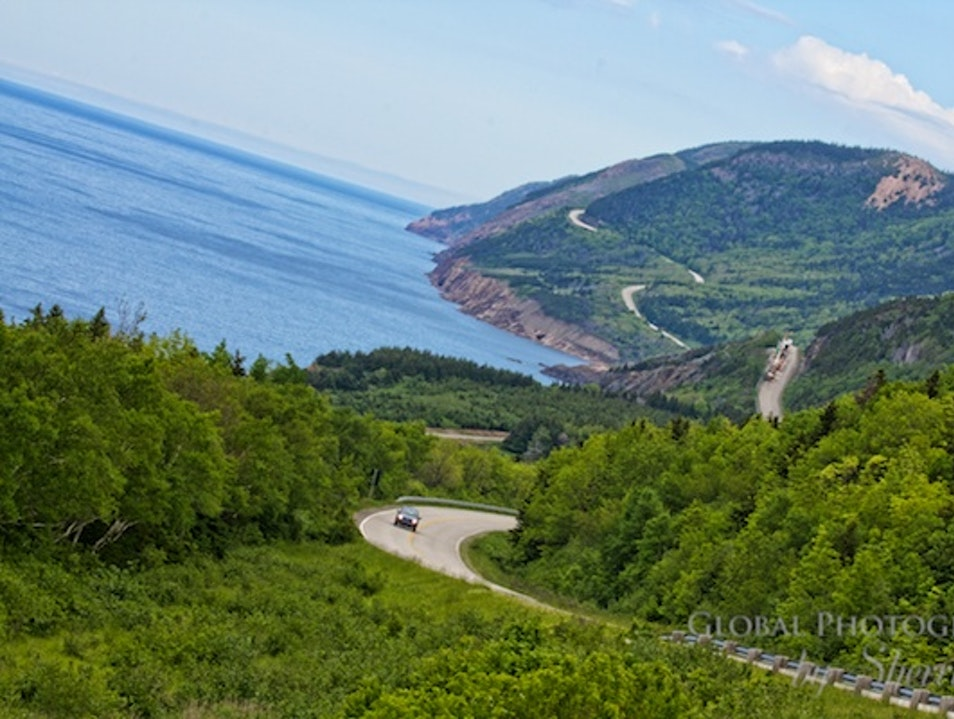 Drive the Cabot Trail Nova Scotia Pleasant Bay  Canada