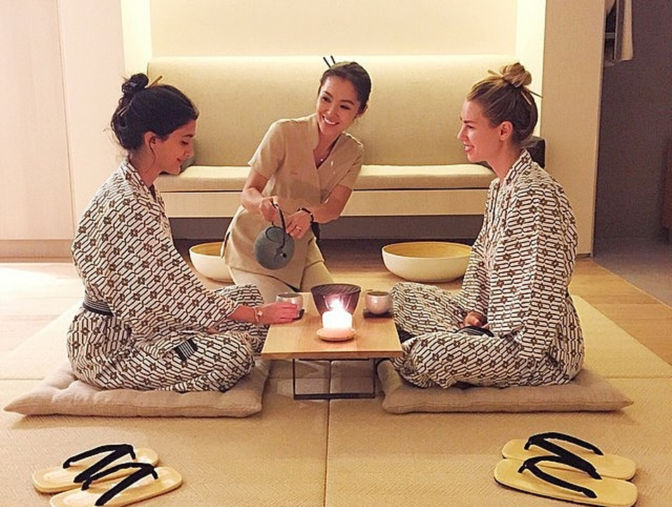 Tomoko Japanese Spa Beverly Hills California United States