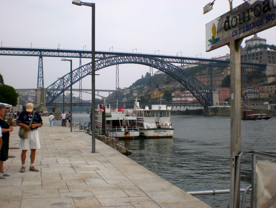 The D. Luis I Bridge Porto  Portugal
