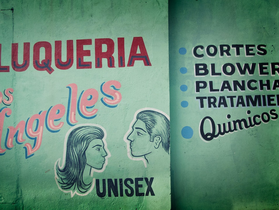 Hand-Painted Signage in Panama City