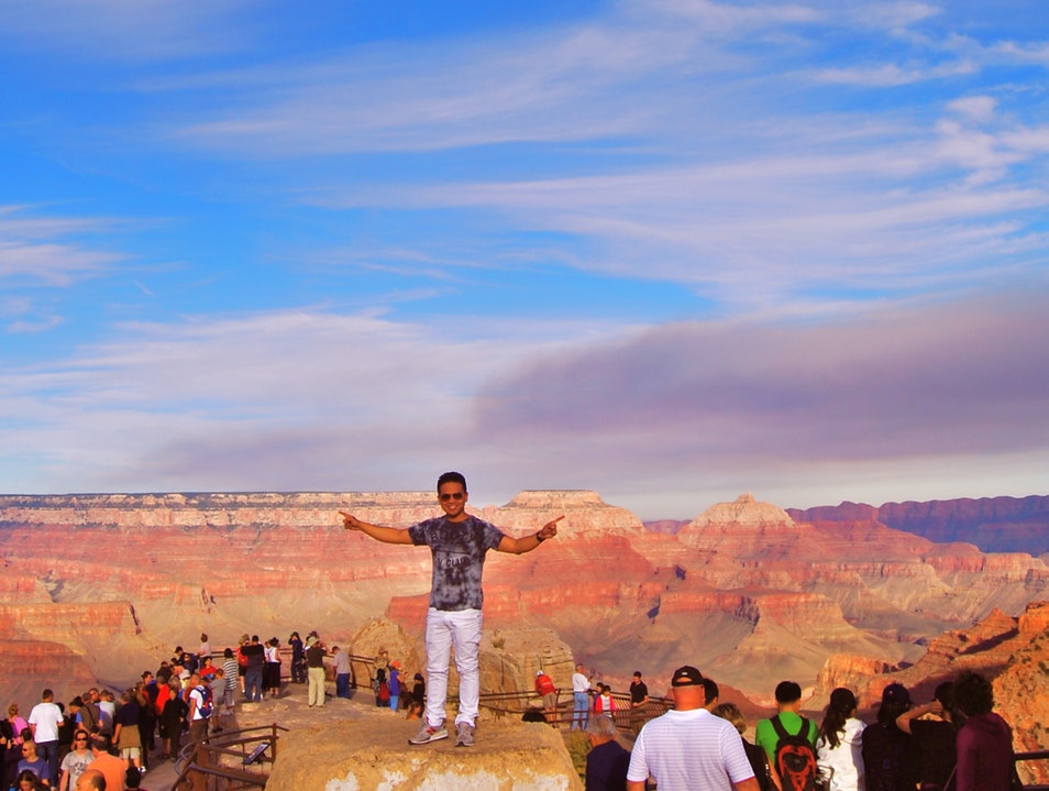 Mesmerized by the Grand Canyon North Rim Arizona United States