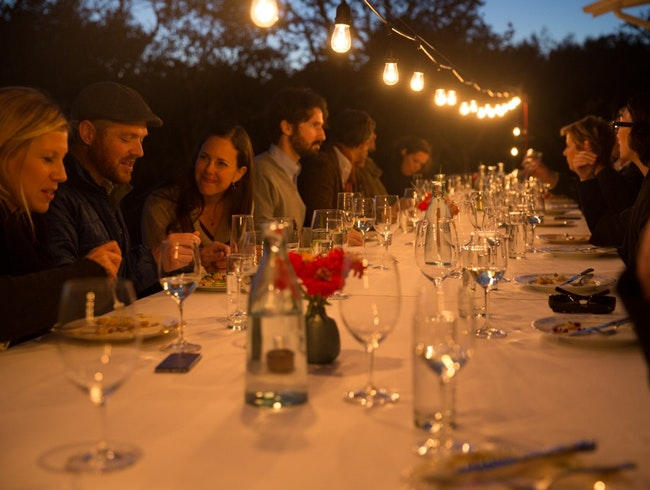 Bus-to-Table Dining in California Wine Country