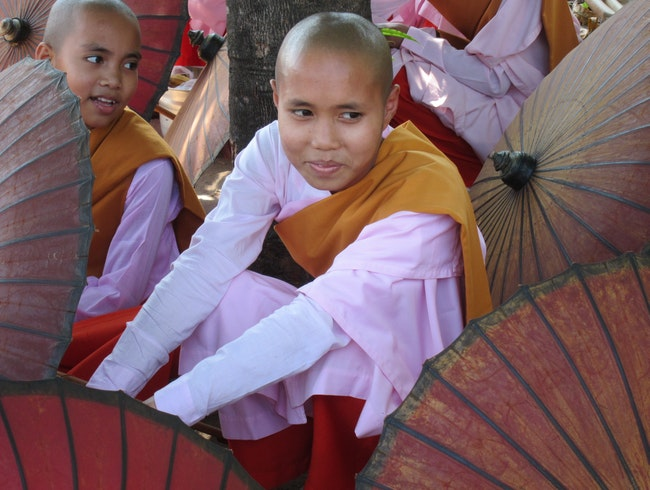 The Buddhist Nuns in Myanmar