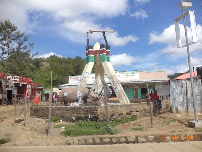 Narok; The Maasai Mara road town