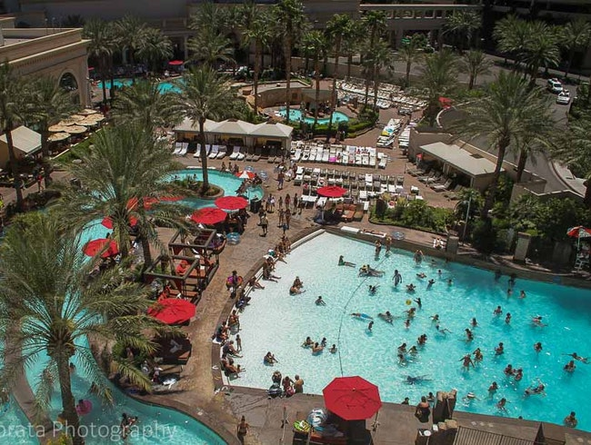 Cool swimming pools in Las Vegas