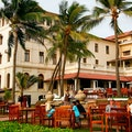 Verandah Bar at Galle Face Hotel Colombo  Sri Lanka