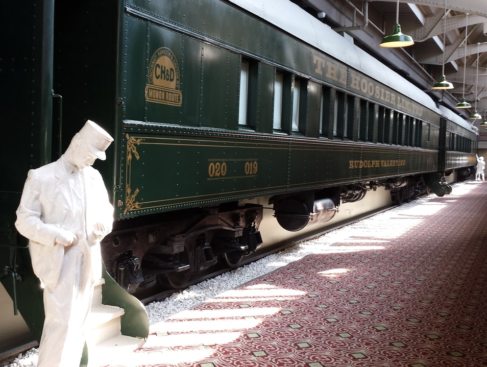 Sleep In a Stylish Pullman Car Without Going Anywhere! Indianapolis Indiana United States