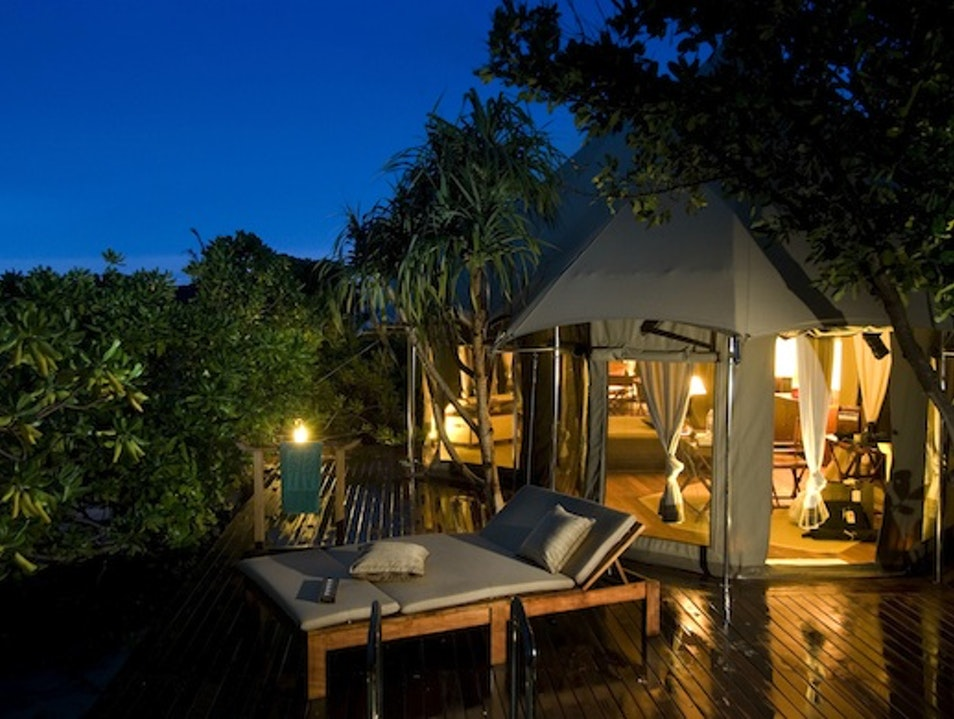 Tent Hotels: Banyan Tree in Madivaru, Maldives Hanimaadhoo  Maldives