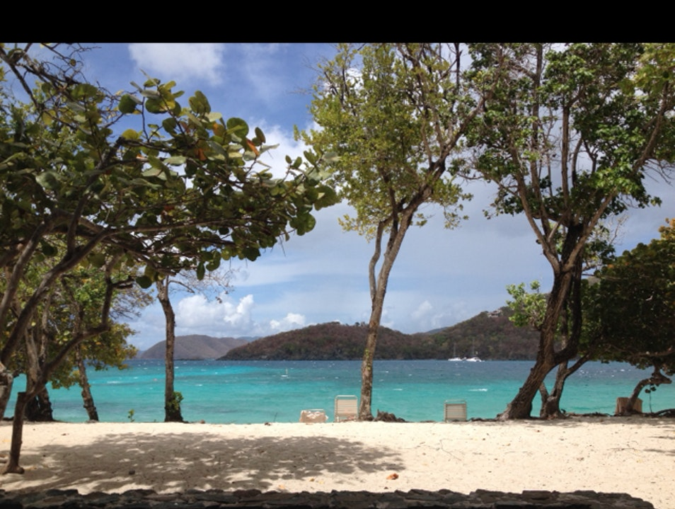 Beautiful beach mindlessness St. John  United States Virgin Islands